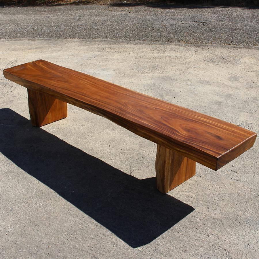 Plan De Travail Bois 280 banc en bois exotique de suar massif de 180 à 280 cm haute