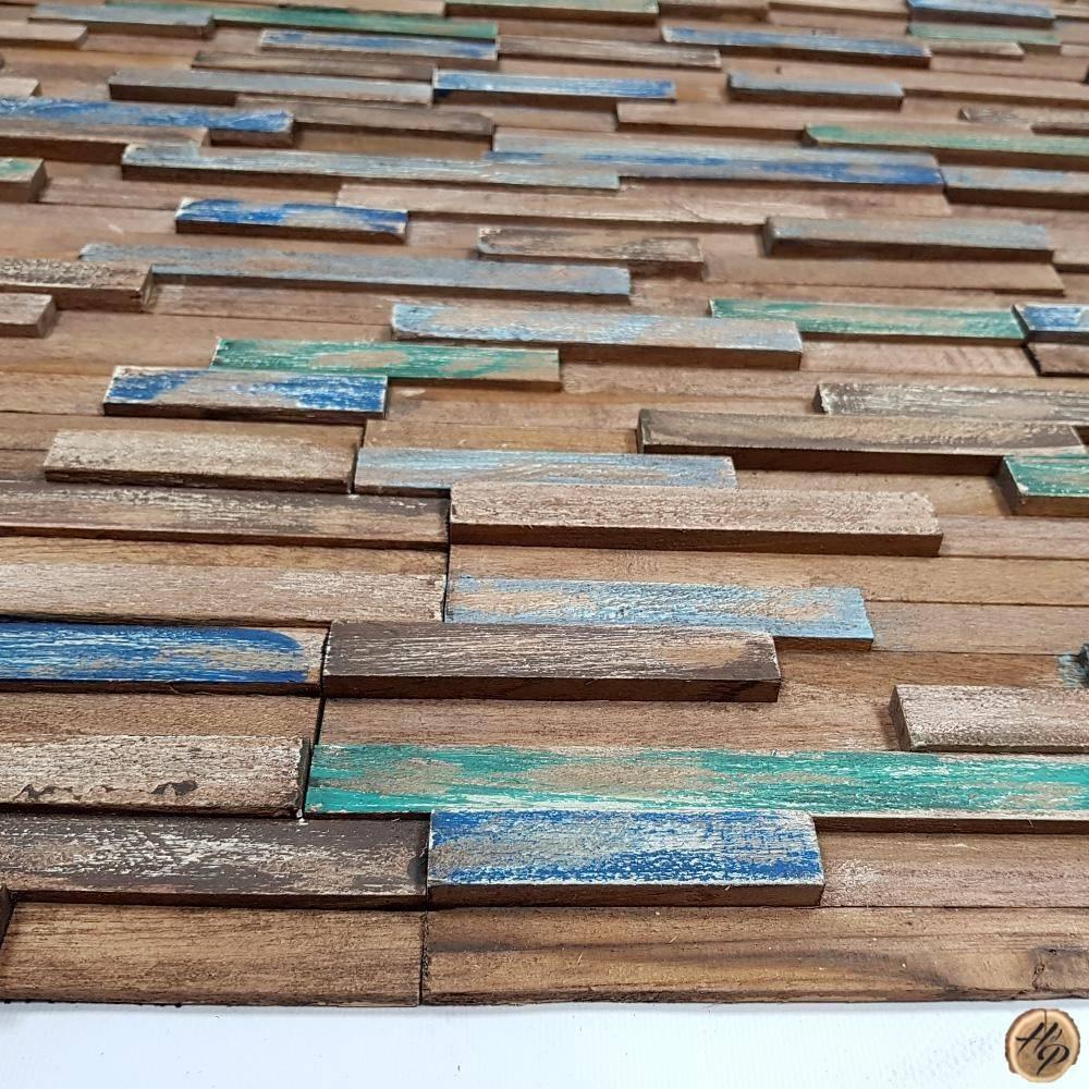 Tasseau Bois Exotique Exterieur parement mural en bois exotique teck intérieur et extérieur